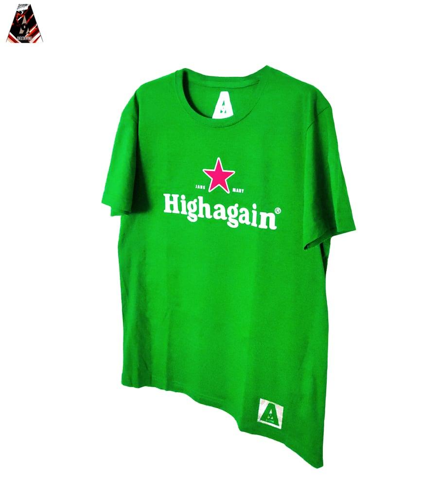 "Image of ΔELTA9INE ""HIGHAGAIN"" T-SHIRT"