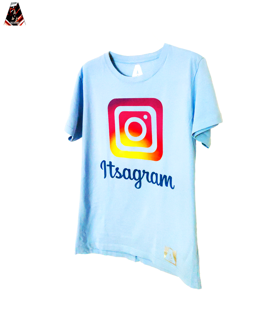 "Image of ΔELTA9INE ""ITSAGRAM"" T-SHIRT"