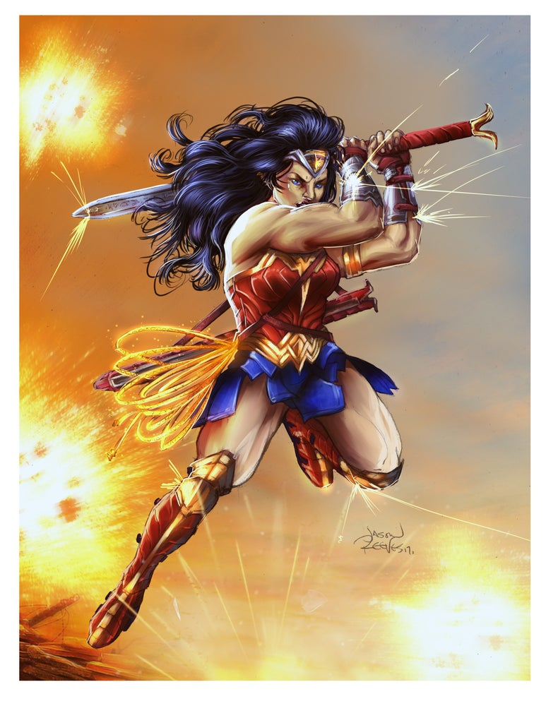 Image of Wonder Woman (Poster/Print)