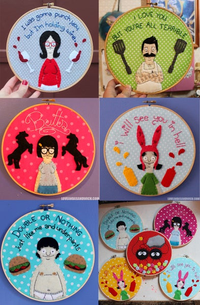 Image of Bobs Burgers hoops