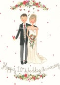 Image of Personalised Wedding Portrait Painting