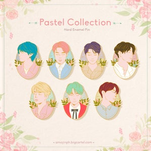 Image of Pastel Collection Enamel Pins [B GRADES]