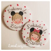 Image of Personalised Disney Badge