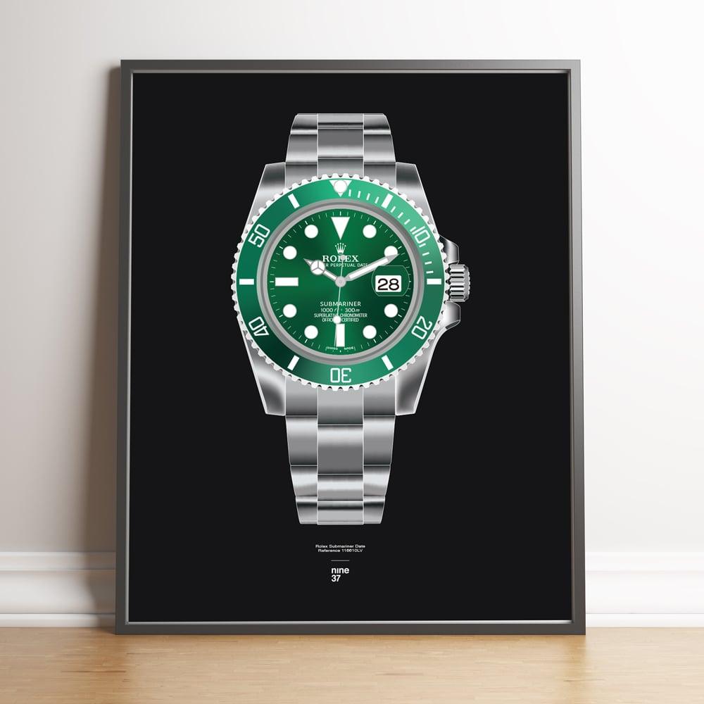 Image of Rolex Submariner 116610LV Bracelet Print