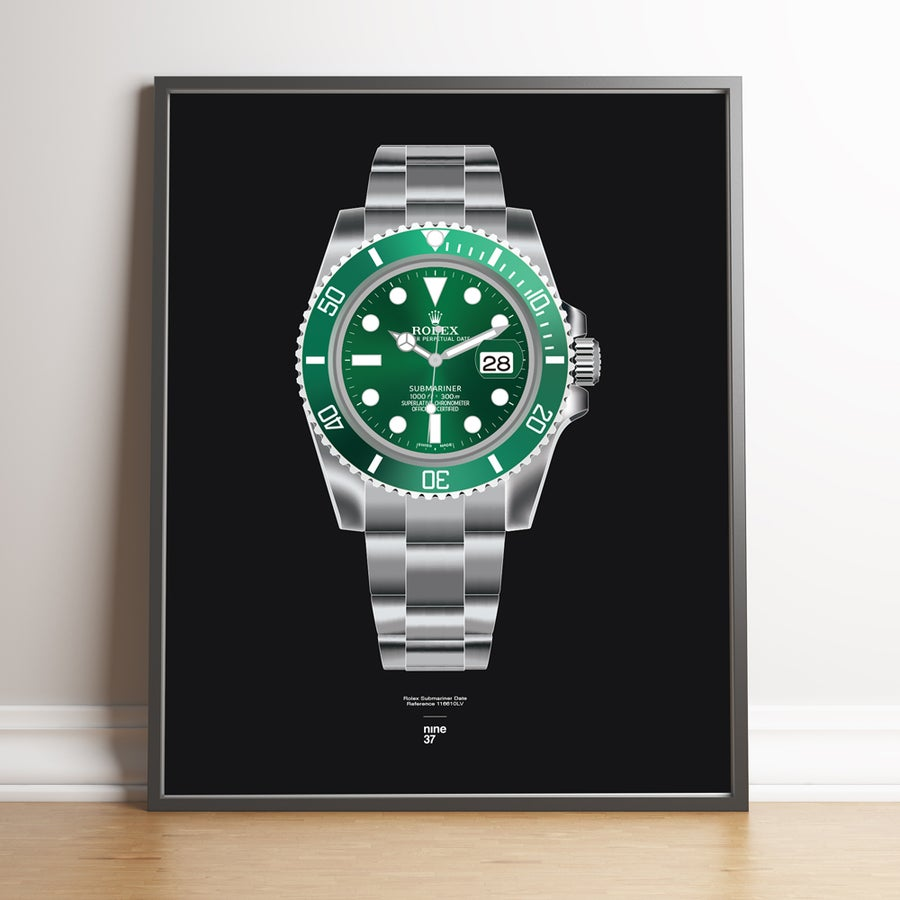 Image of Rolex Submariner 116610LV Bracelet Print