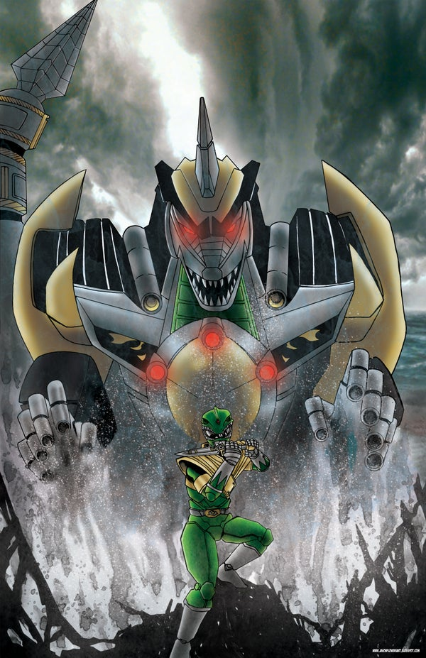 Image of Summon the Dragonzord! Power Rangers