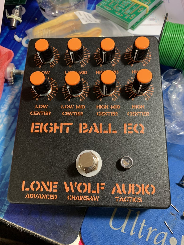 Image of EIGHT BALL Chainsaw studio grade EQ pre sale