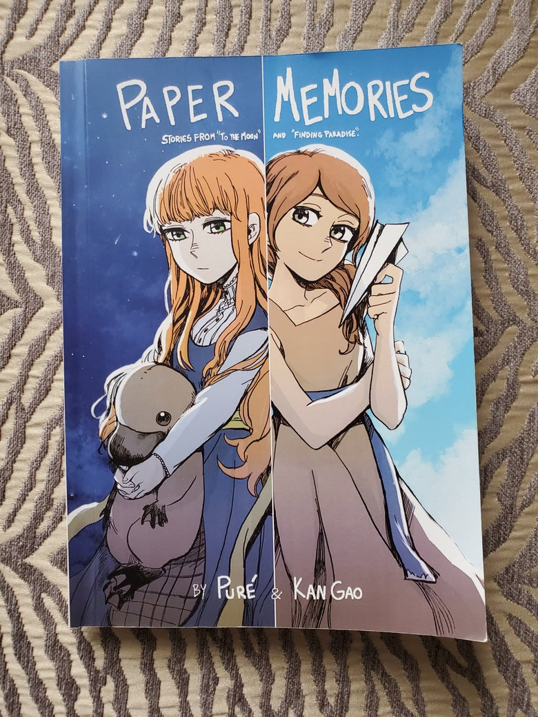 Image of Paper Memories - Printed Comic Book