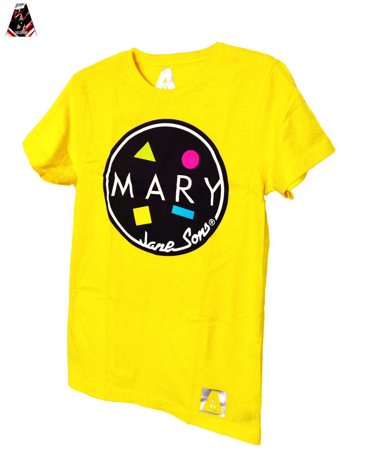 "Image of ΔELTA9INE ""MARY JANE SONS"" T-SHIRT"