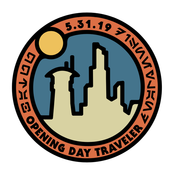Image of Black Spire Outpost Opening Day Traveler Pin