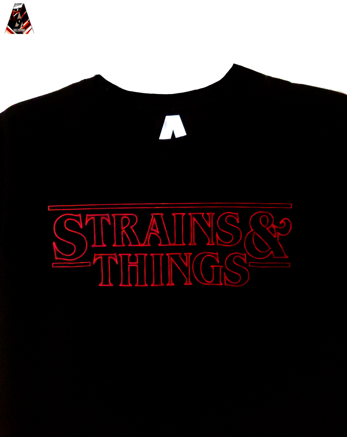 "Image of ΔELTA9INE ""STRAINS&THINGS"" T-SHIRT"