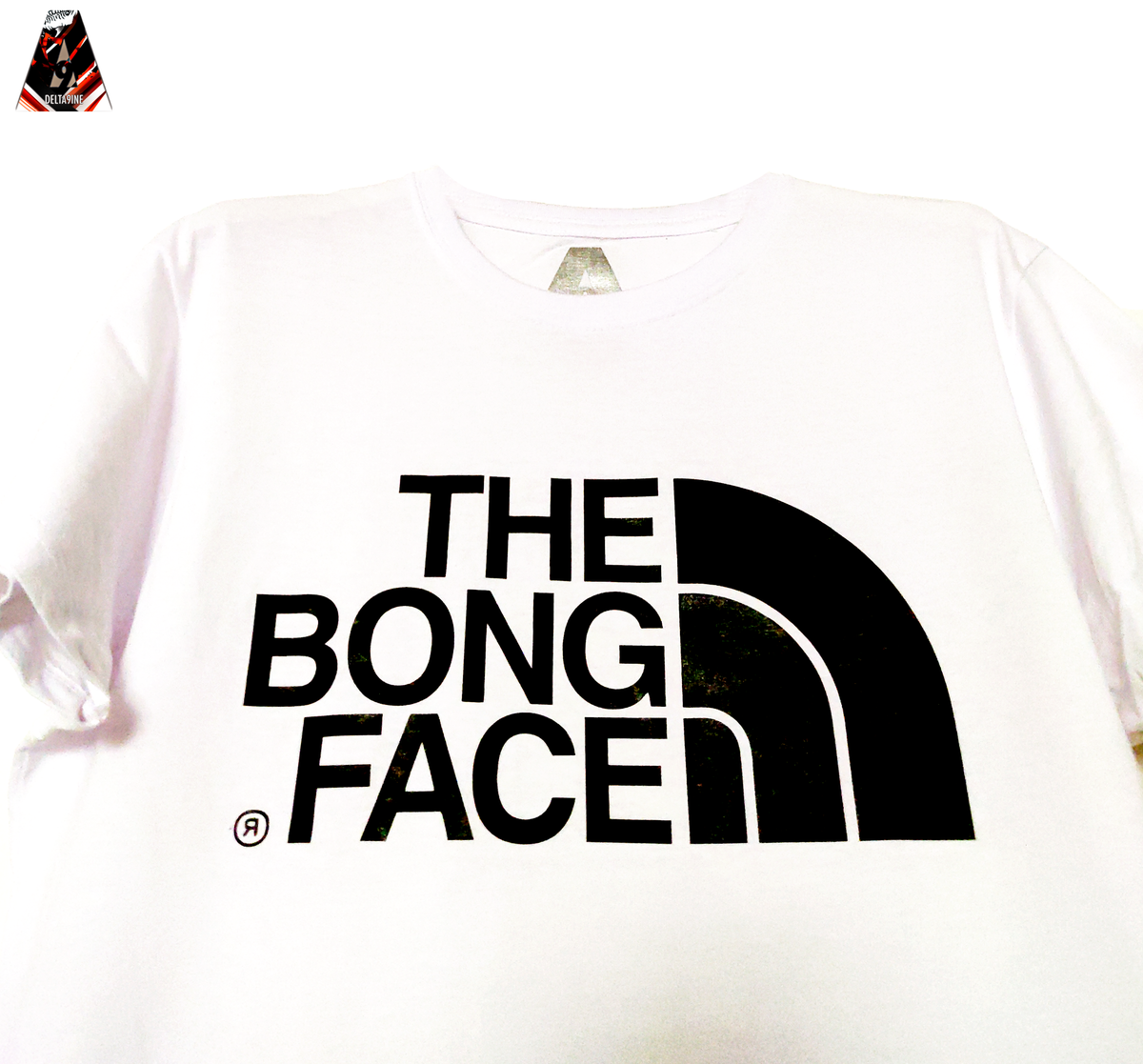 "Image of ΔELTA9INE ""THE BONG FACE"" T-SHIRT"