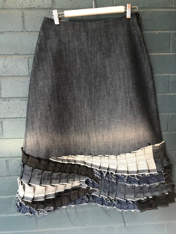 Image of KylieJane Denim Prairie skirt