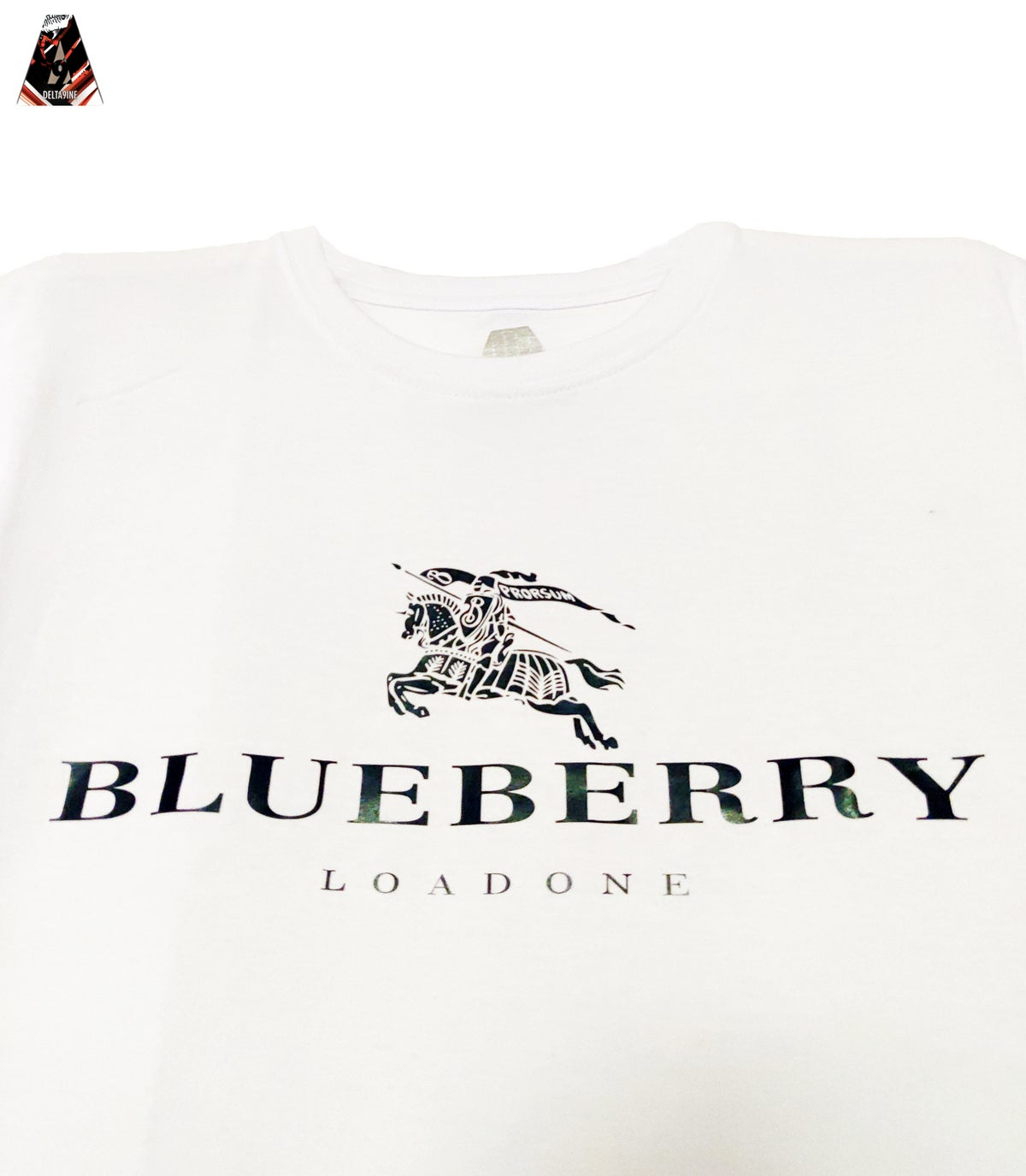 "Image of ΔELTA9INE ""BLUEBERRY"" T-SHIRT"