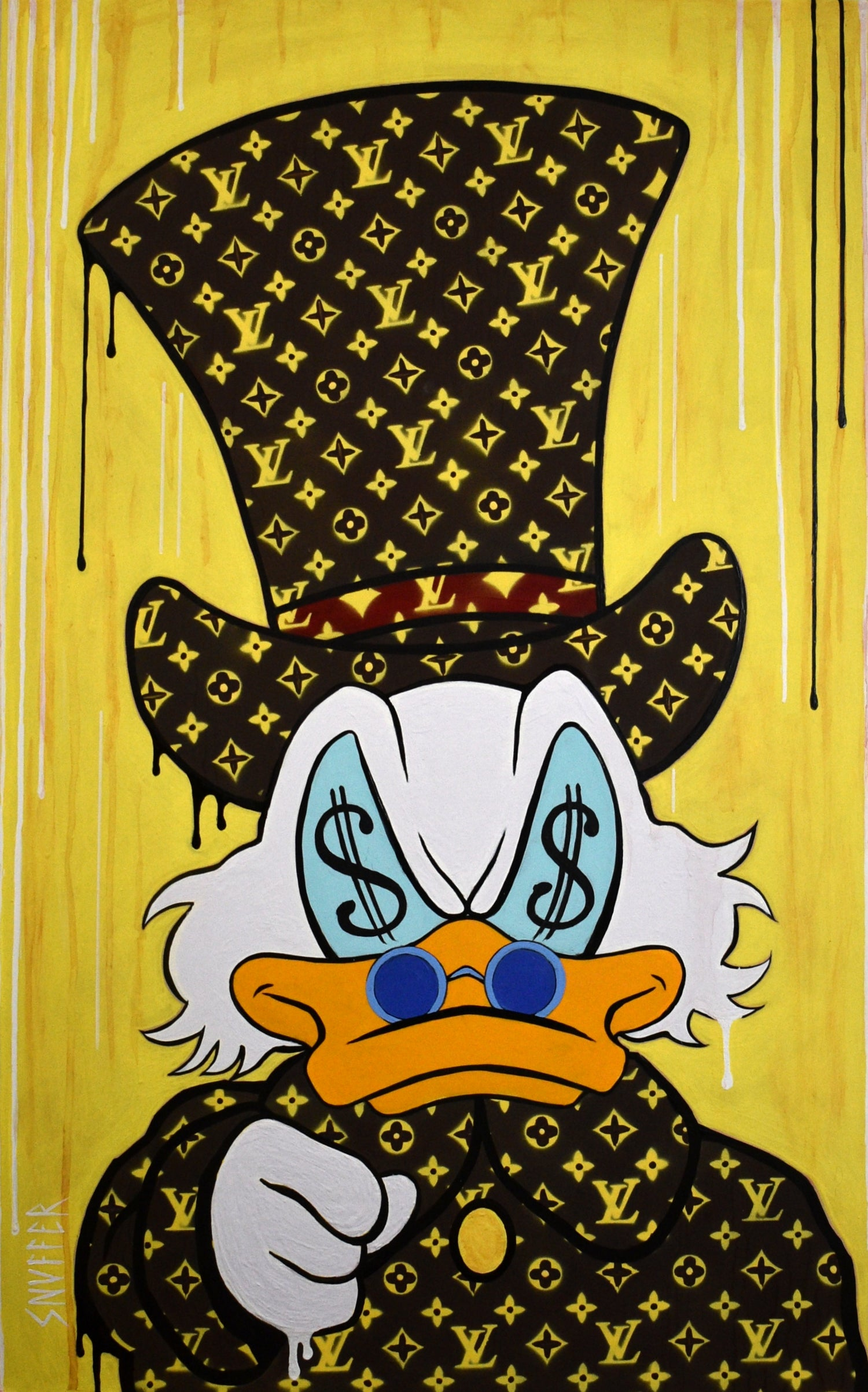 """Image of """"VUITTON McDUCK WANTS IT ALL"""""""