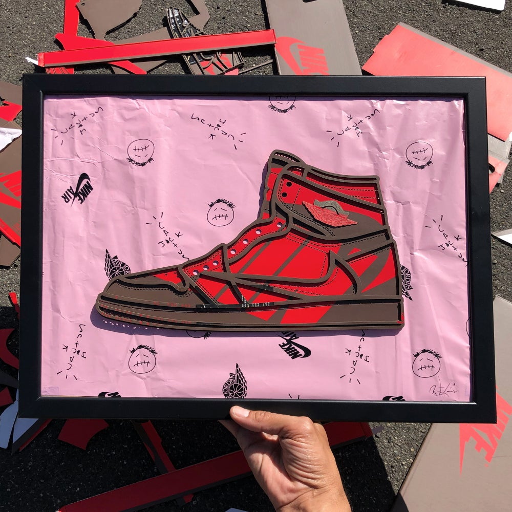 Image of Travis Scott Air Jordan 1