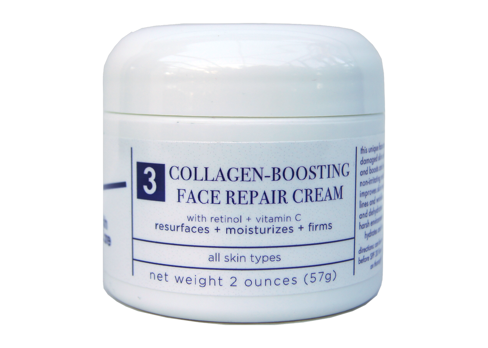 Image of T4 Collagen-Boosting Face Repair Crème w/ Retinol & Vitamin C