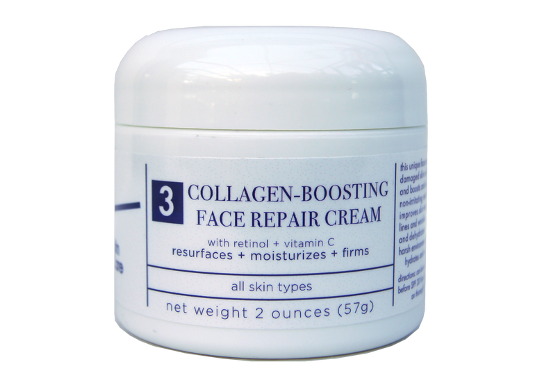 Image of T4 Collagen-Boosting Face Repair Crème w/ Retinol & Vitamin C