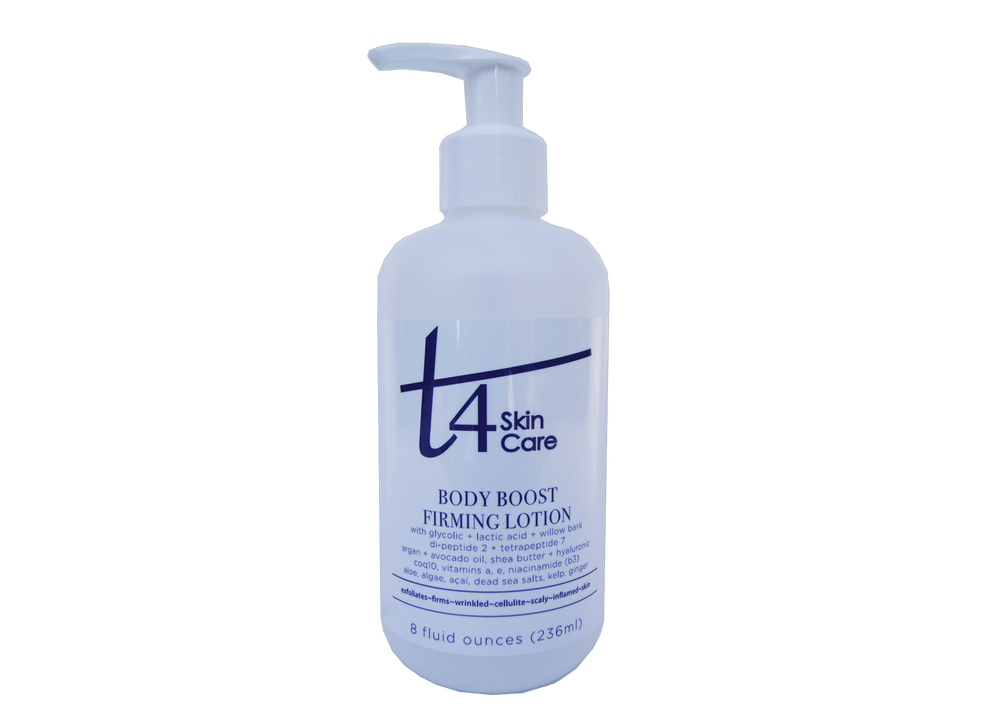 Image of T4 Body Boost Exfoliating + Firming Lotion