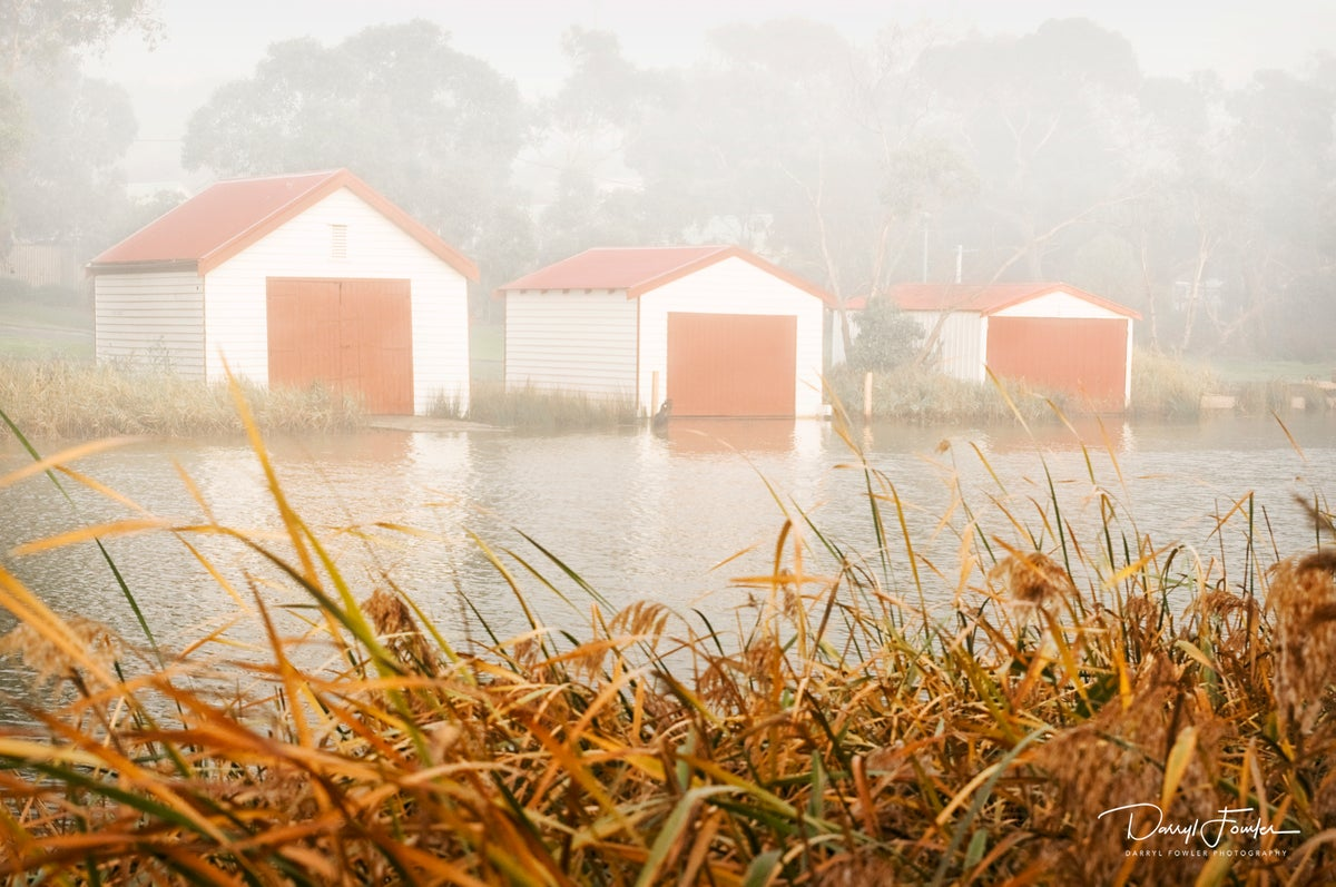Image of Boat Sheds, Anglesea River