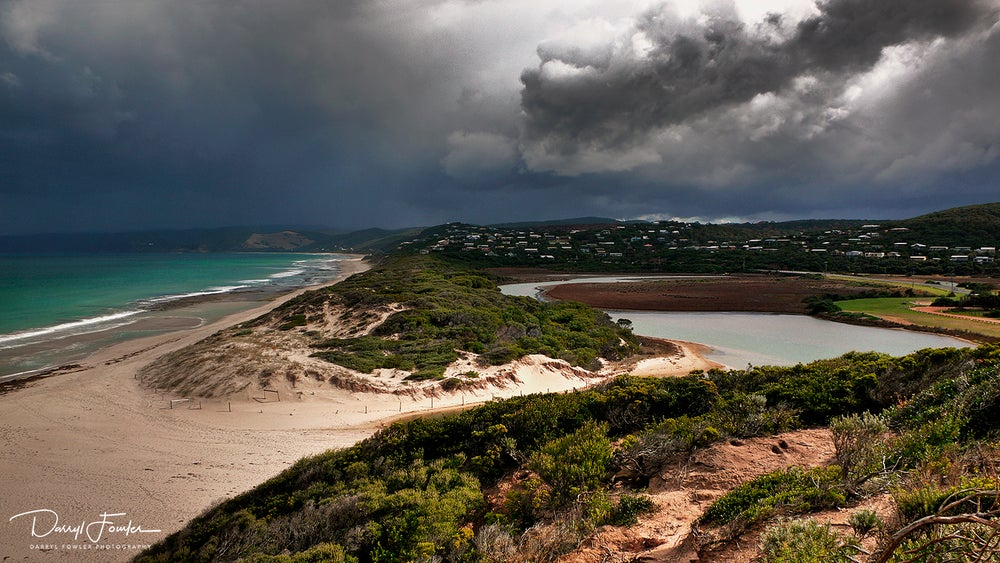 Image of Coastal Storm, Airey's Inlet