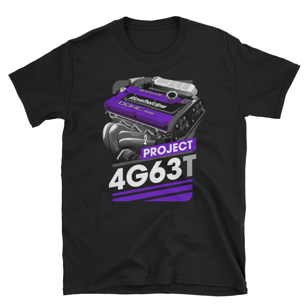 Image of PROJECT 4G63T | BLACK/PURPLE
