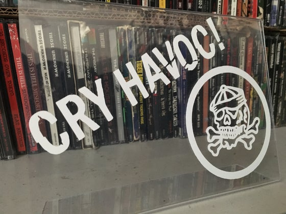 Image of CRY HAVOC! VINYL DECAL