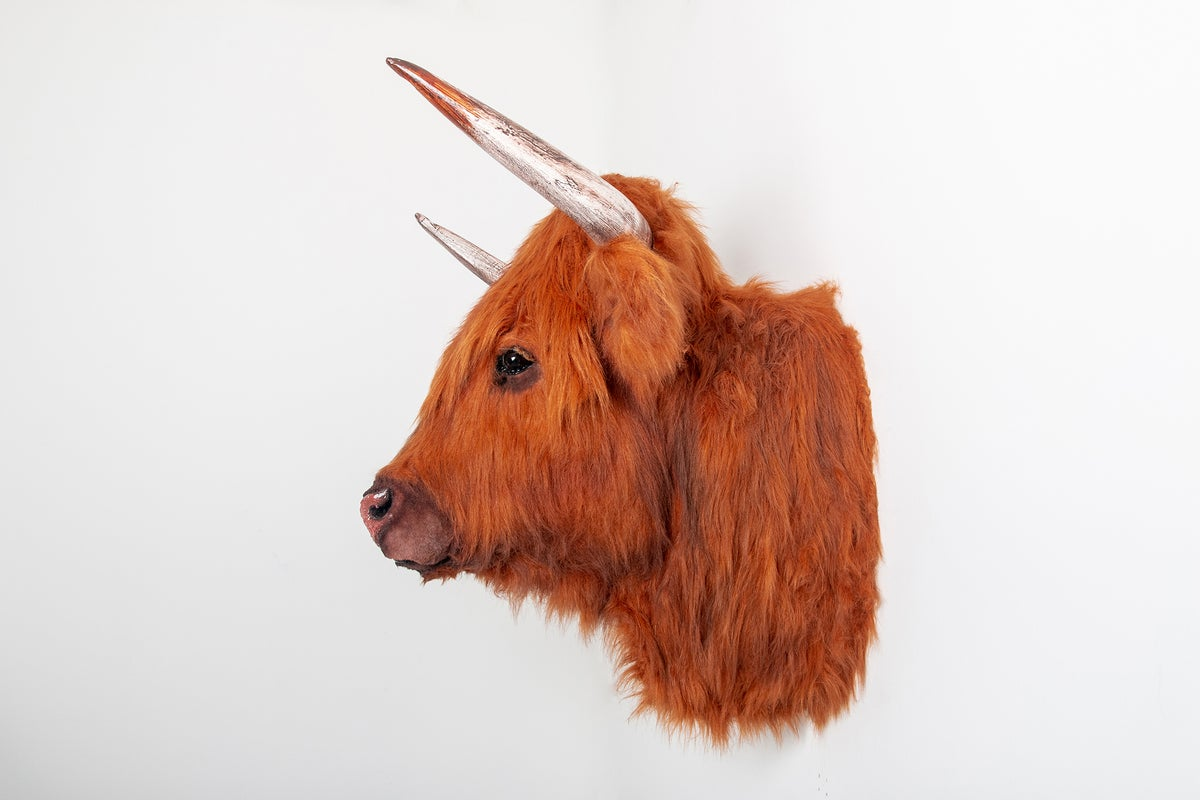 Image of Highland Cow Sculpture