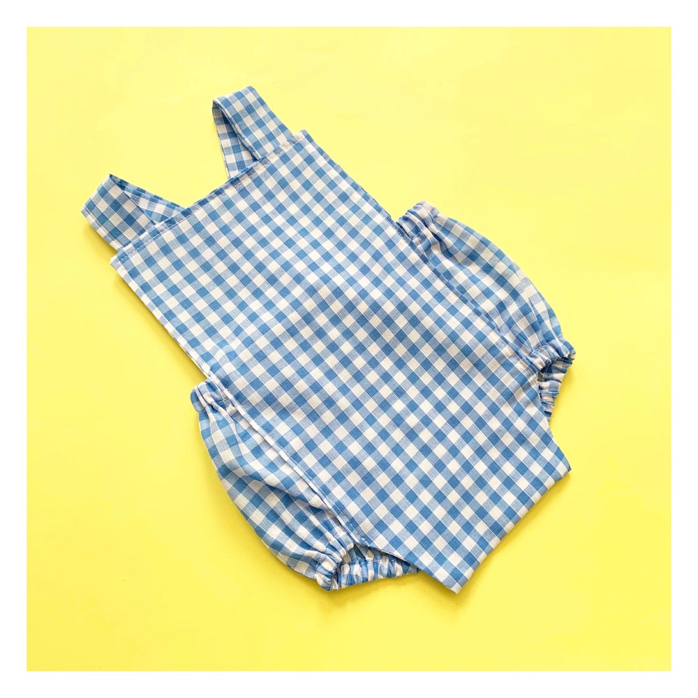 Image of Gingham rompers