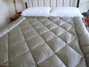 Image of Beautiful Zinc Double Silk Eiderdown
