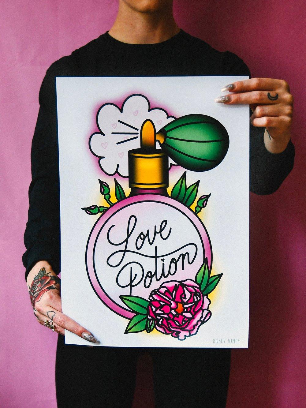 Image of Print Love Potion