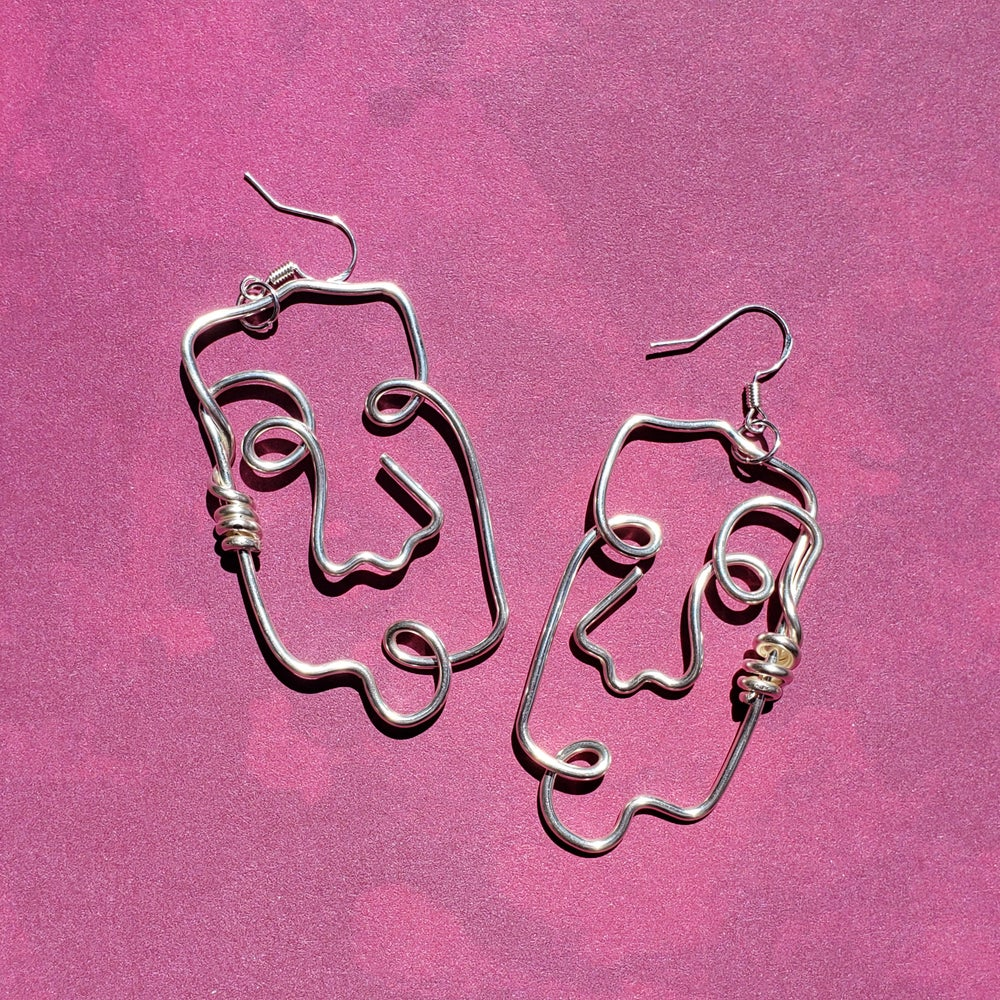 Image of Boxy Silver Beings