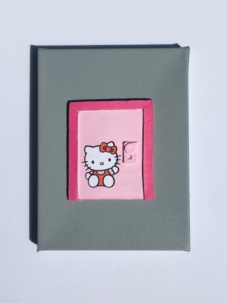 Image of Pink Mows Door