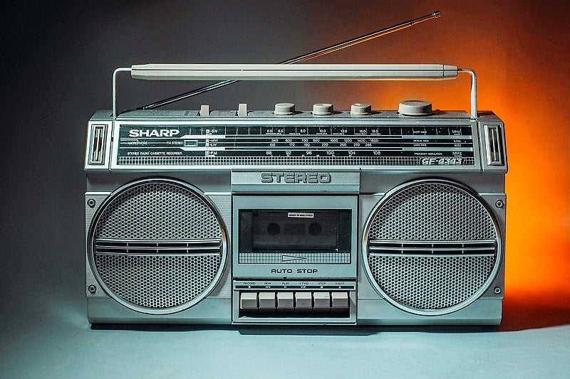Image of SHARP GF-4343 BLUETOOTH BOOMBOX (1984)