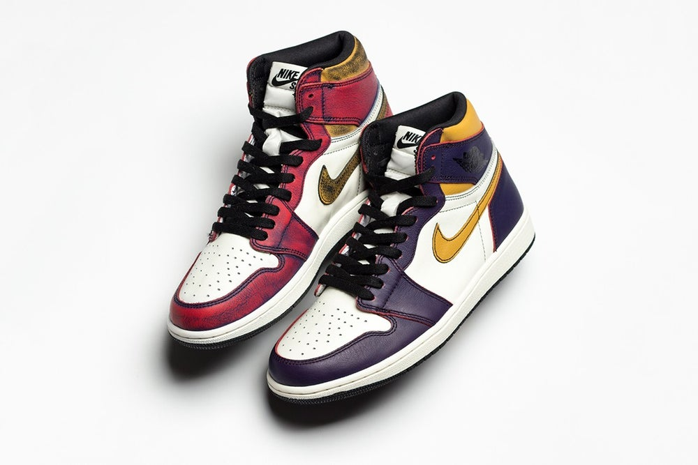 tout neuf c0aa5 9429b Jordan 1 Retro High OG Defiant SB LA to Chicago