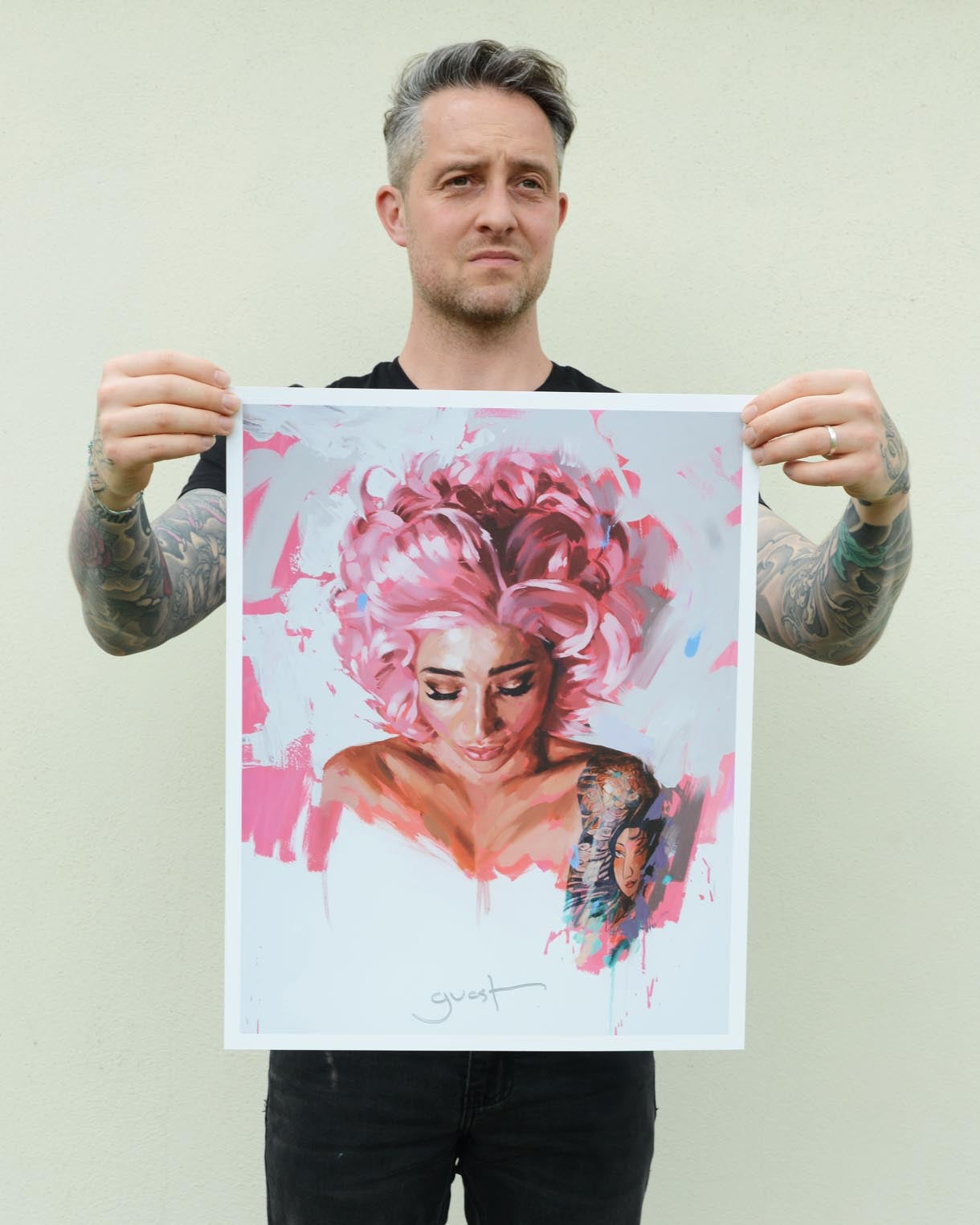 Image of Open Edition 'CANDY FLOSS' Lithograph Print