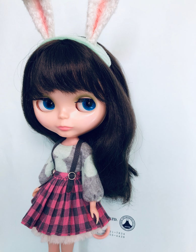 Image of Mint Berry Bunny Set for Neo Blythe