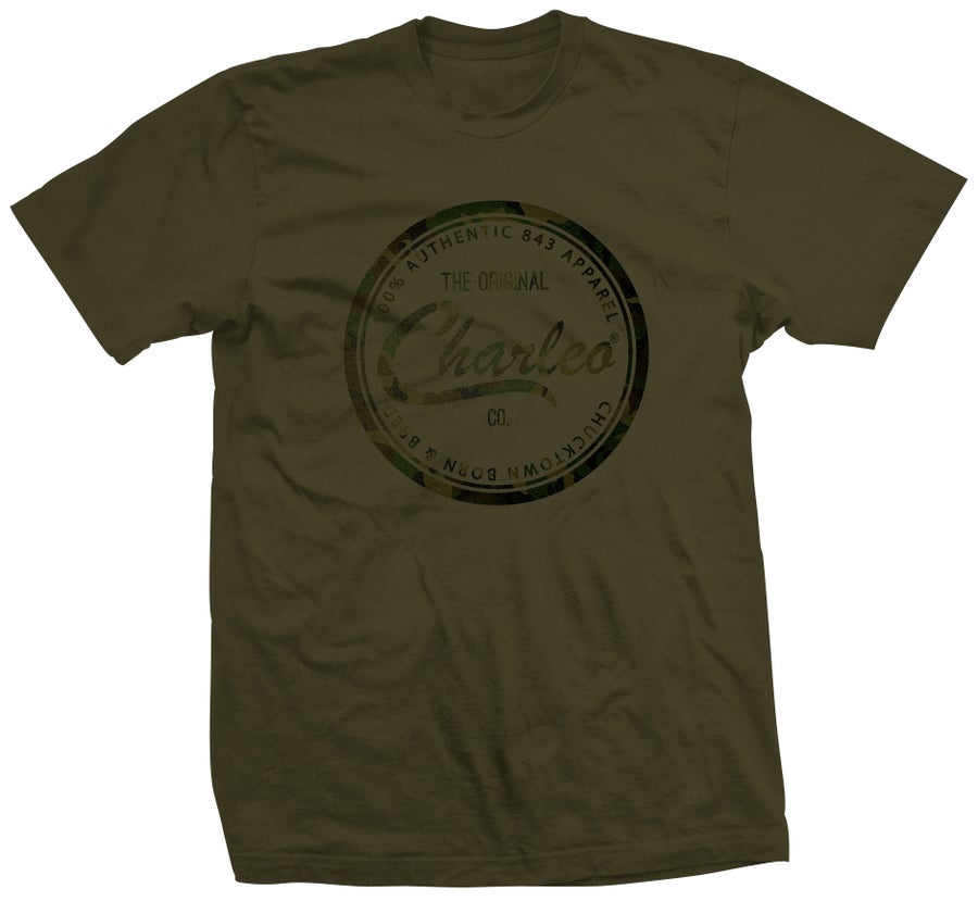 Image of The Original Charleo Camo Seal Tee