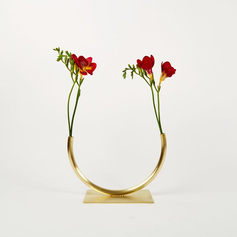 Image of Vase 1020 - Glass Half Full Vase