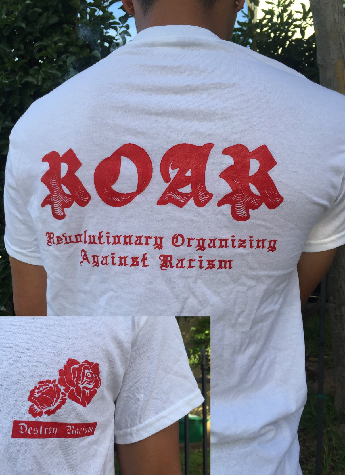 Image of ROAR conference white shirt