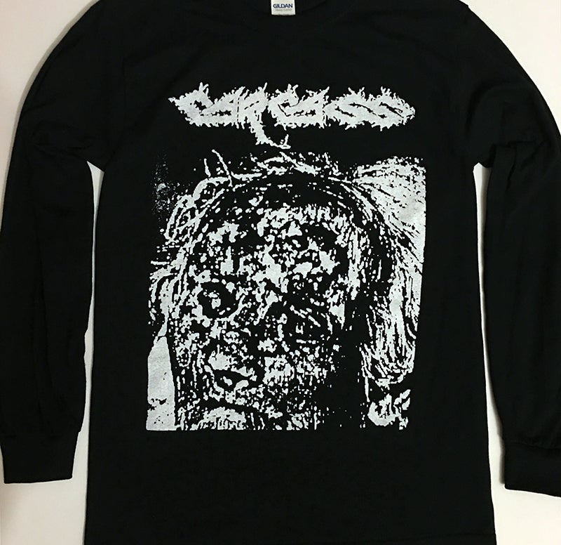 "Image of Carcass "" Flesh Ripping Sonic Torment "" Long Sleeve T shirt"