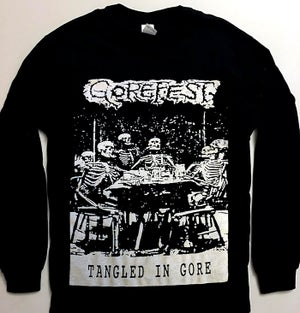 "Image of Gorefest "" Tangled In Gore "" Longsleeve T shirt"