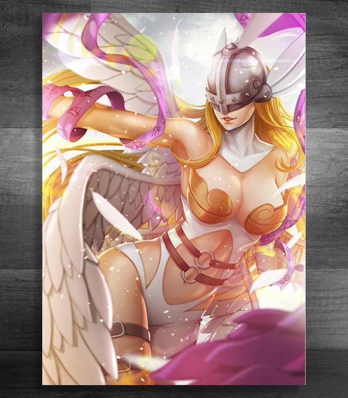 Image of Angewomon (Print)