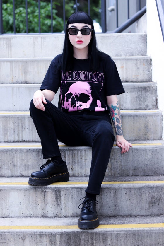 Image of 'Sanctuary Skull' Tee