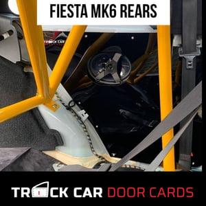 Image of Fiesta mk6 Rear panels - Track Car Door Cards