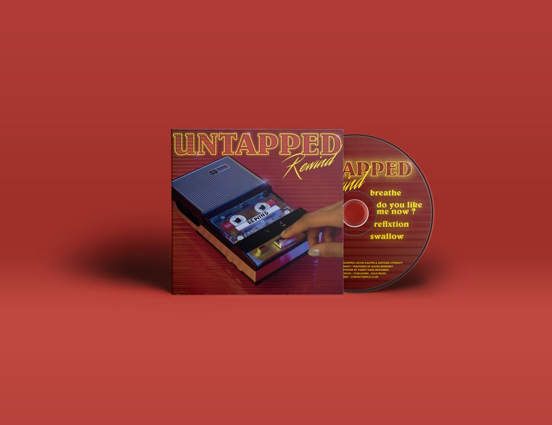 "Image of Untapped ""Rewind"" EP"