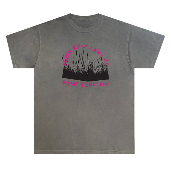Image of 1 Year Anniversary Fresh Kills Tee (Grey)