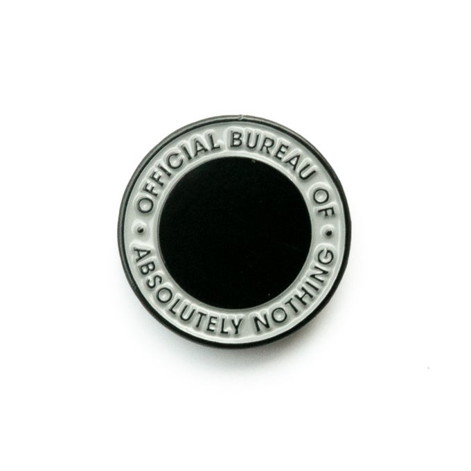 Image of Official Bureau of Absolutely Nothing Pin