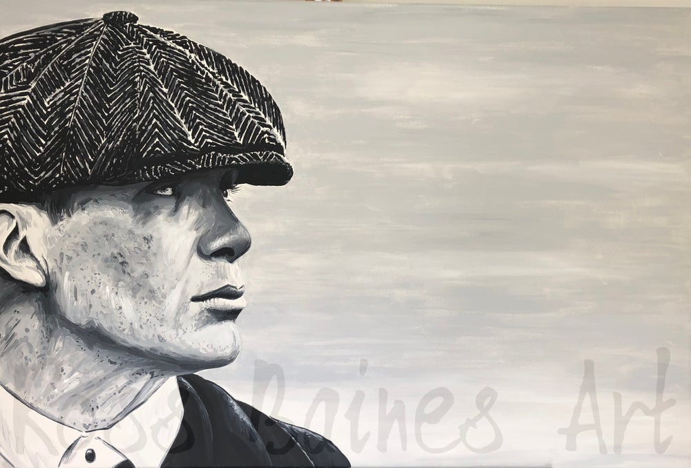 Image of THOMAS SHELBY 3x2ft canvas print