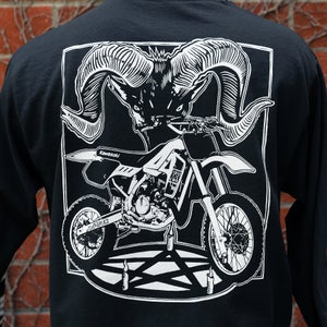 Image of Satan rides a KX80 Long Sleeve